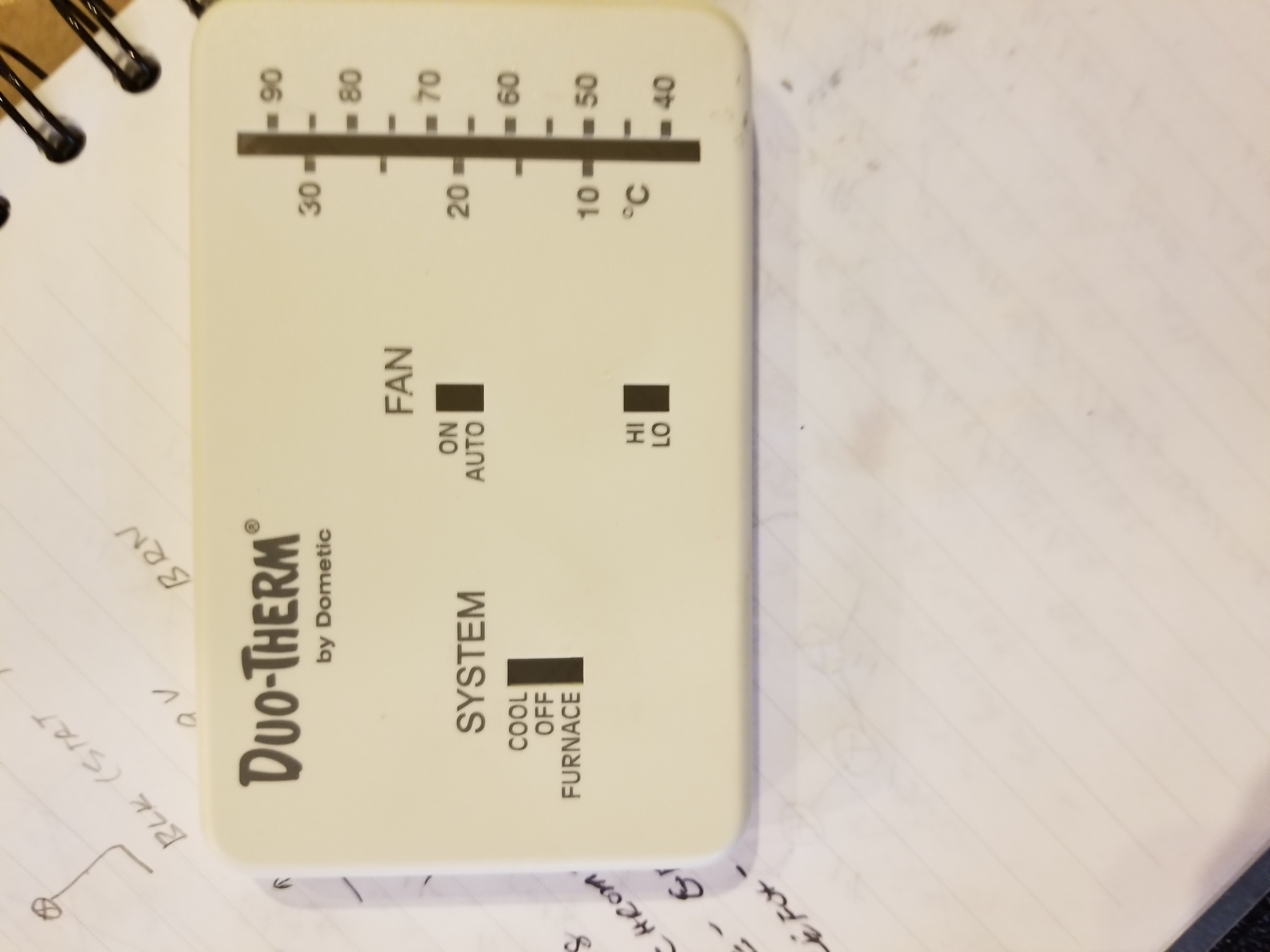 Duo Therm Thermostat